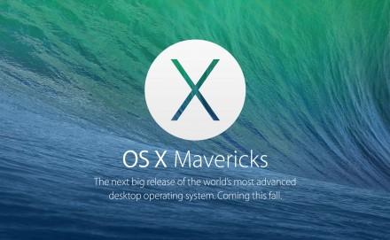 OS X Mavericks : Cap sur l'efficacité !